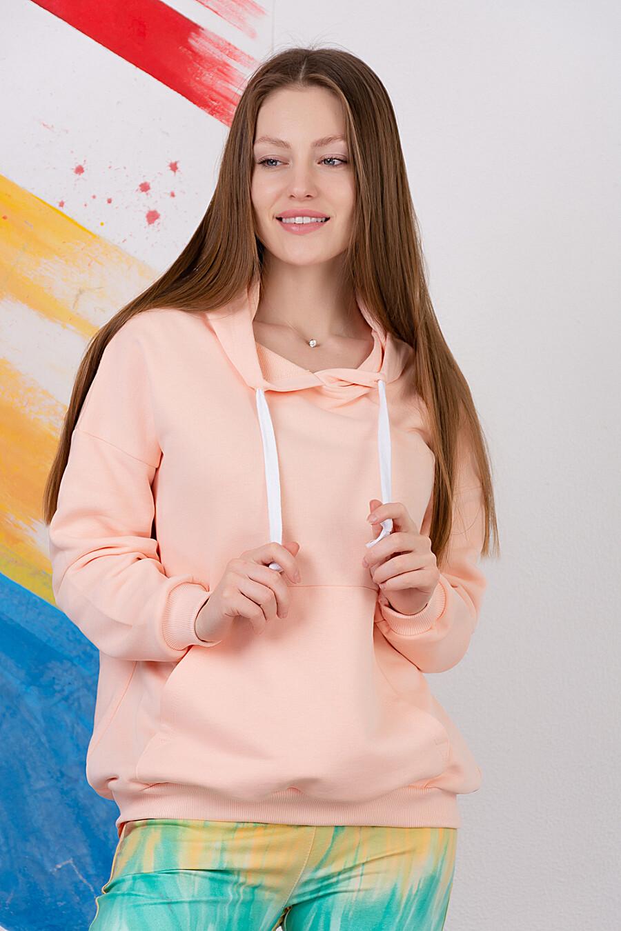 Толстовка 6406 для женщин НАТАЛИ 334771 купить оптом от производителя. Совместная покупка женской одежды в OptMoyo