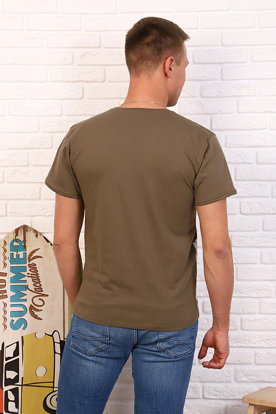 Футболка 34503 для мужчин НАТАЛИ 334801 купить оптом от производителя. Совместная покупка мужской одежды в OptMoyo