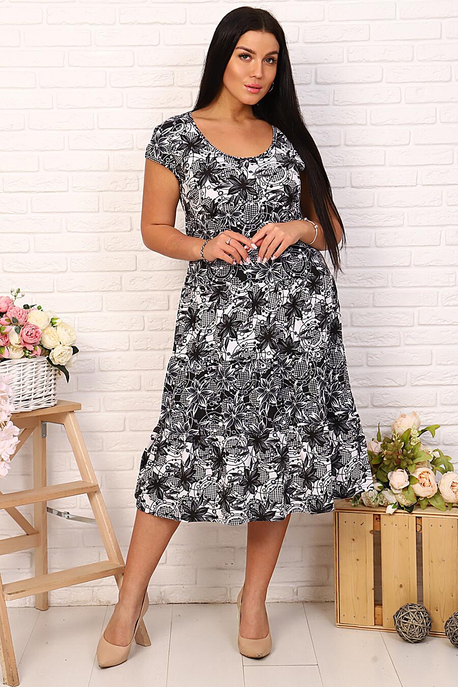 Платье 4677 для женщин НАТАЛИ 649288 купить оптом от производителя. Совместная покупка женской одежды в OptMoyo