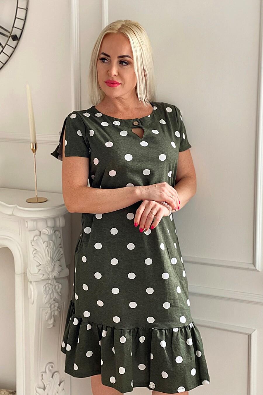 Платье 7271 для женщин НАТАЛИ 649296 купить оптом от производителя. Совместная покупка женской одежды в OptMoyo