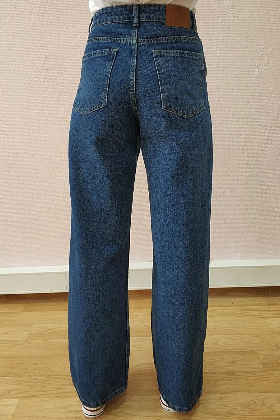 Джинсы для женщин F5 649529 купить оптом от производителя. Совместная покупка женской одежды в OptMoyo