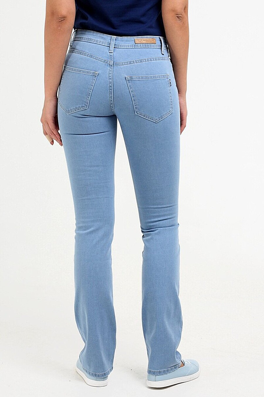 Джинсы для женщин F5 649530 купить оптом от производителя. Совместная покупка женской одежды в OptMoyo