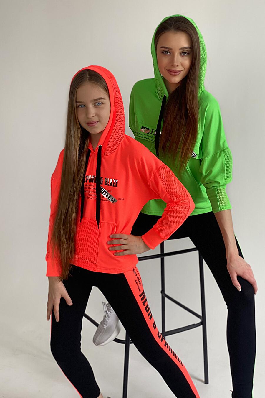Толстовка 8102 детская для девочек НАТАЛИ 649569 купить оптом от производителя. Совместная покупка детской одежды в OptMoyo