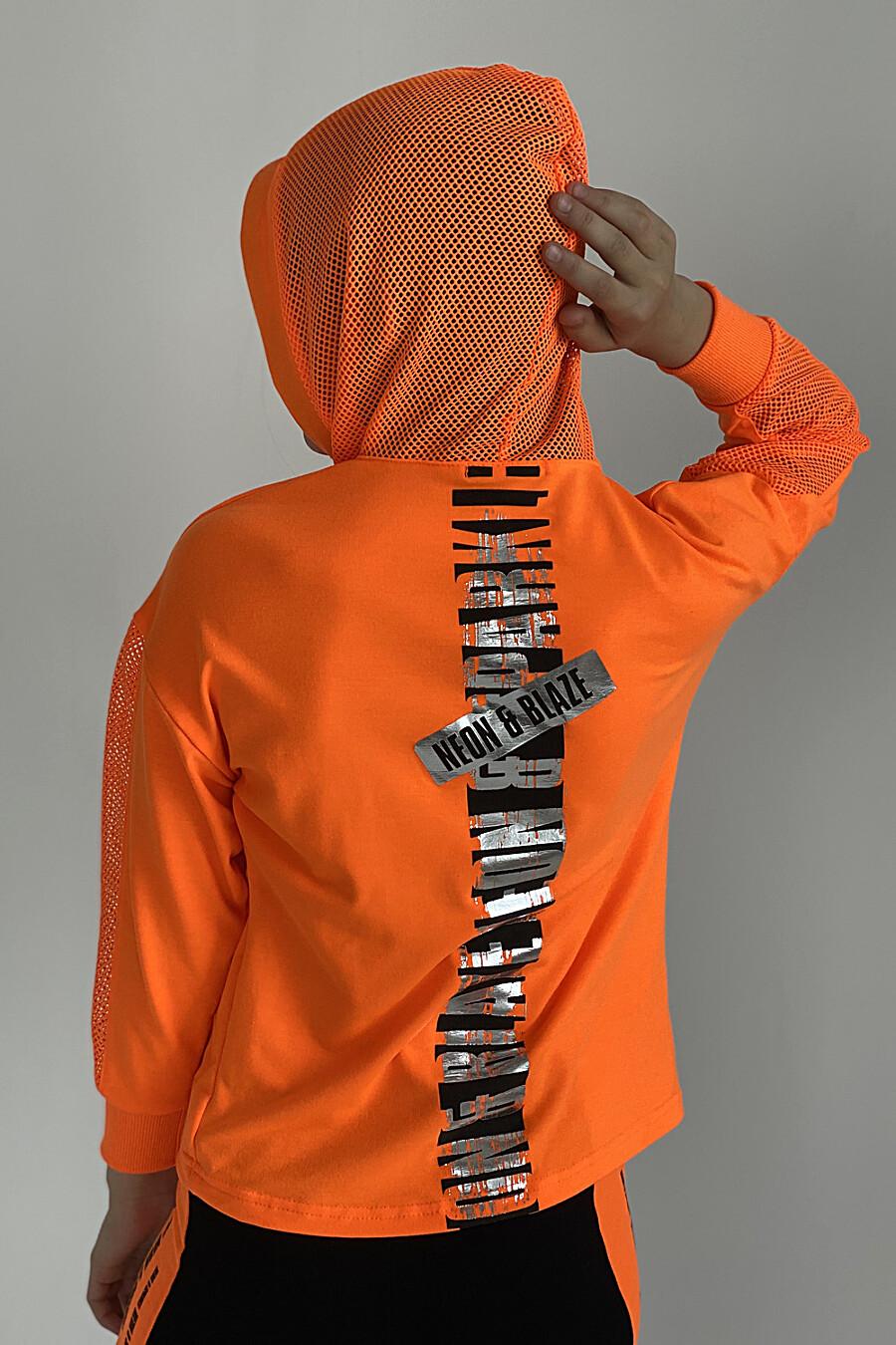 Толстовка 8102 детская для девочек НАТАЛИ 649570 купить оптом от производителя. Совместная покупка детской одежды в OptMoyo