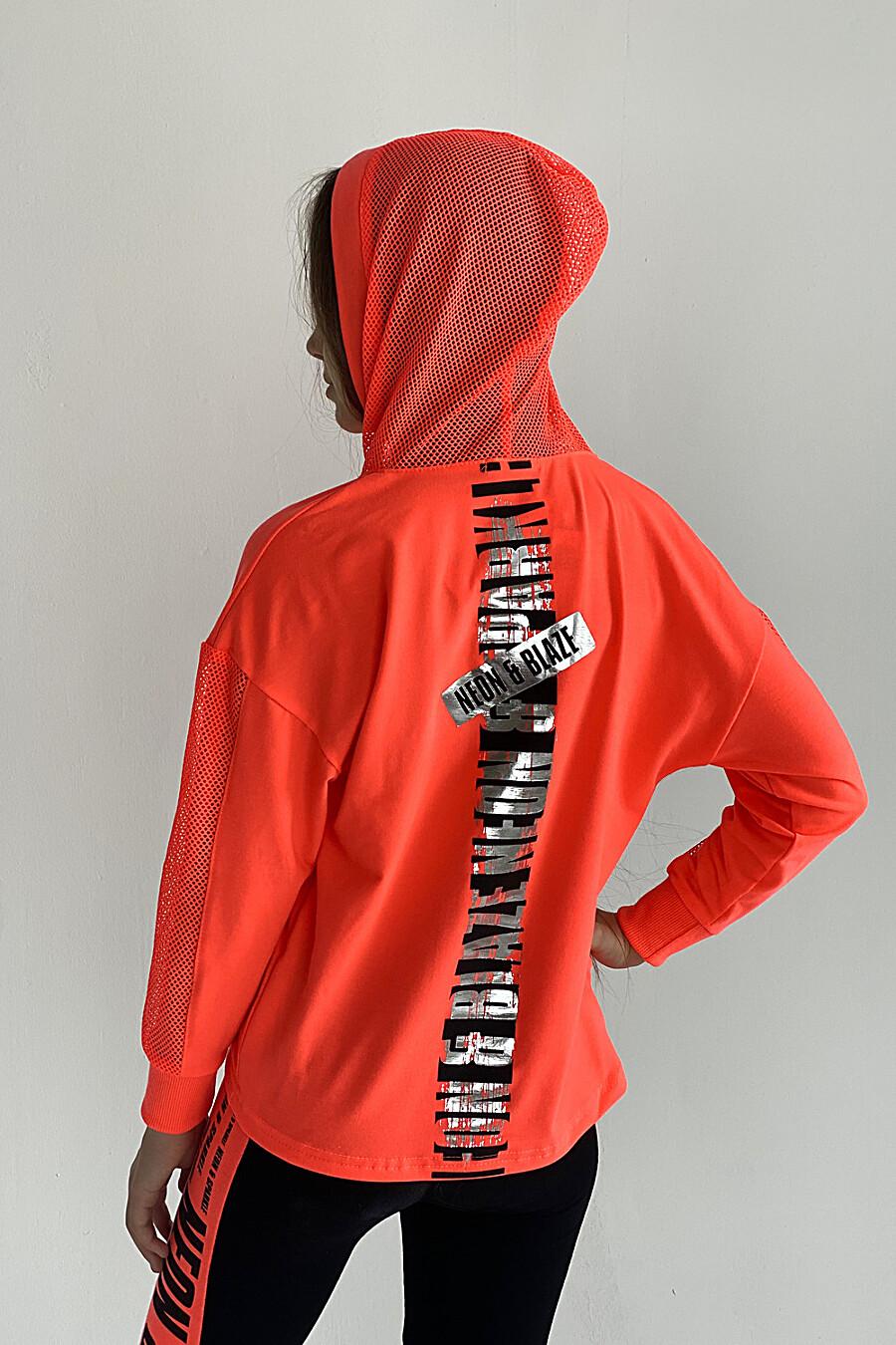 Толстовка 8102 детская для девочек НАТАЛИ 649571 купить оптом от производителя. Совместная покупка детской одежды в OptMoyo