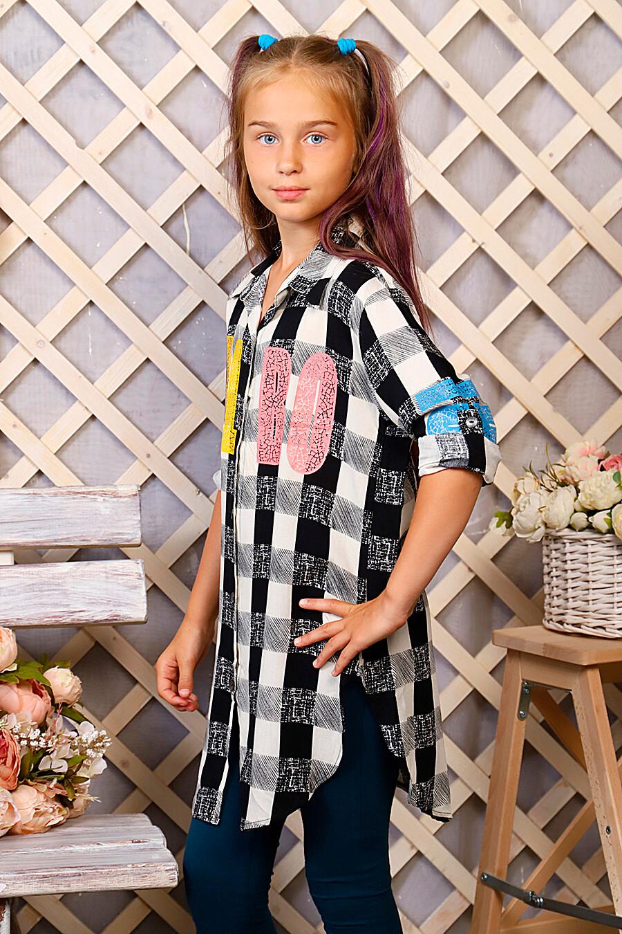Туника-рубашка для девочек SOFIYA37 667930 купить оптом от производителя. Совместная покупка детской одежды в OptMoyo
