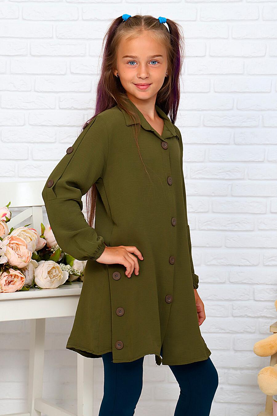 Туника-рубашка для девочек SOFIYA37 667933 купить оптом от производителя. Совместная покупка детской одежды в OptMoyo