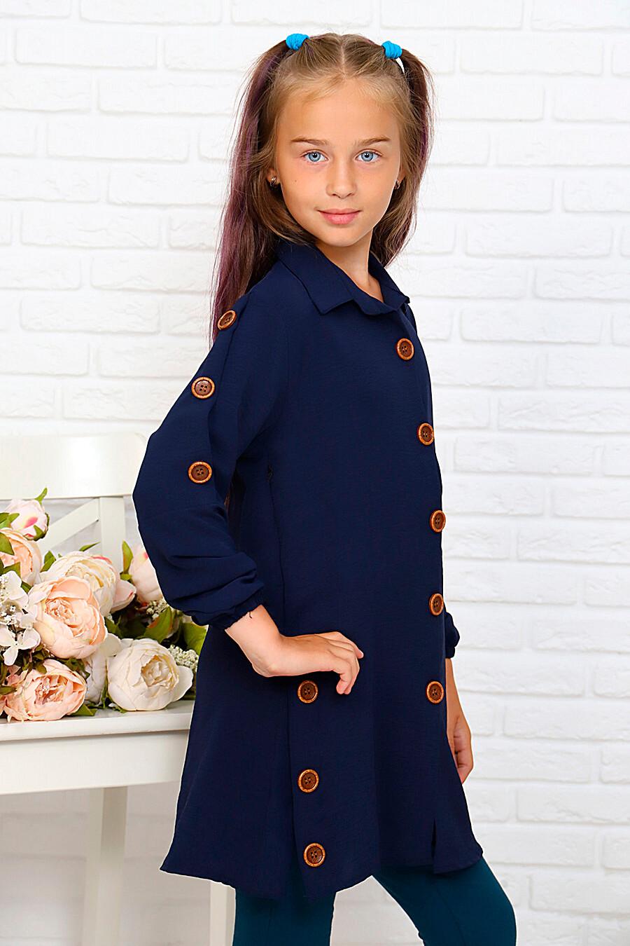Туника-рубашка для девочек SOFIYA37 667936 купить оптом от производителя. Совместная покупка детской одежды в OptMoyo