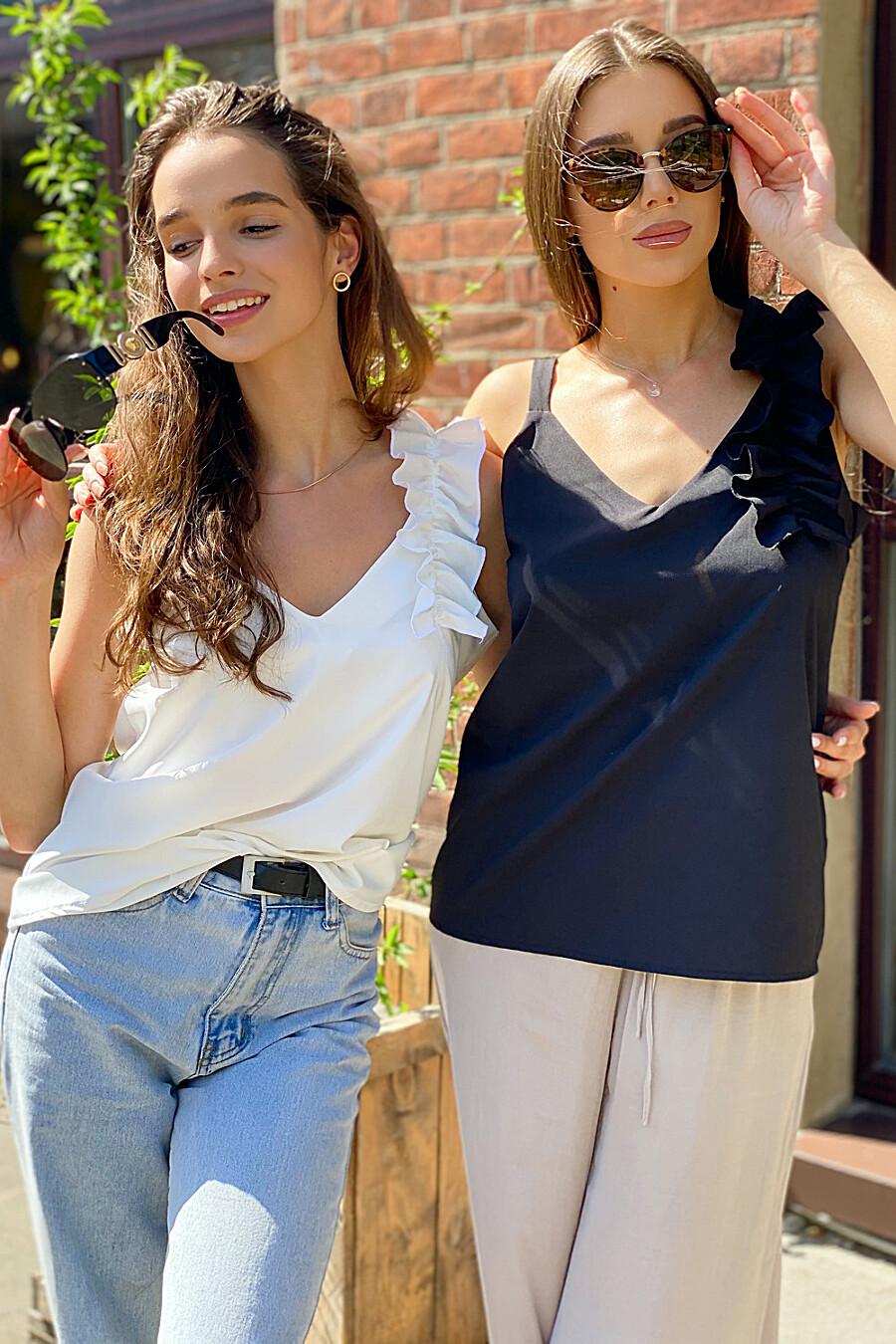 Майка 13627 для женщин НАТАЛИ 668153 купить оптом от производителя. Совместная покупка женской одежды в OptMoyo