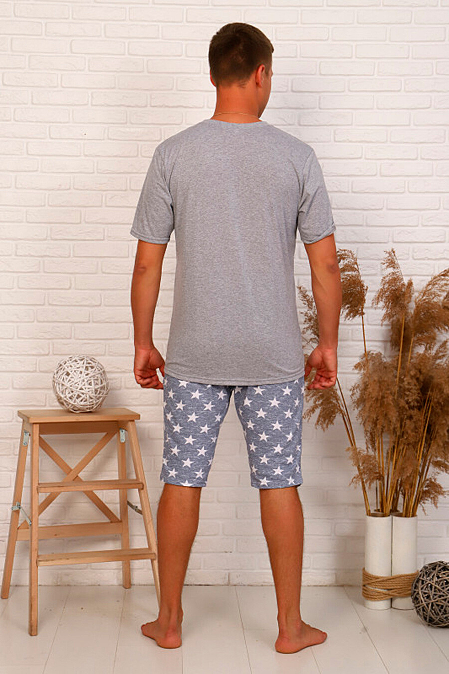 Костюм (Футболка + Шорты) для мужчин SOFIYA37 668356 купить оптом от производителя. Совместная покупка мужской одежды в OptMoyo