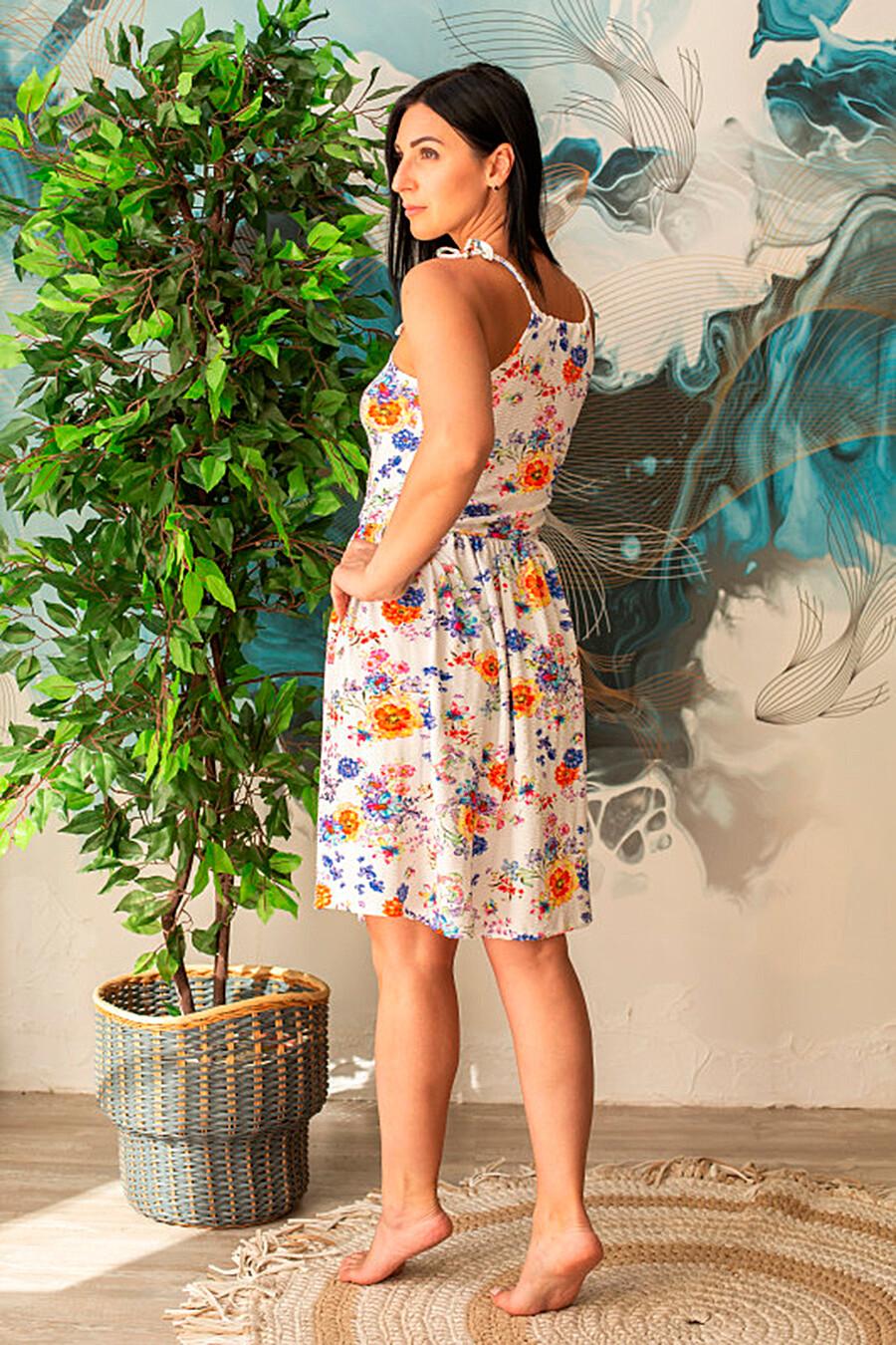 Сарафан для женщин SOFIYA37 668398 купить оптом от производителя. Совместная покупка женской одежды в OptMoyo