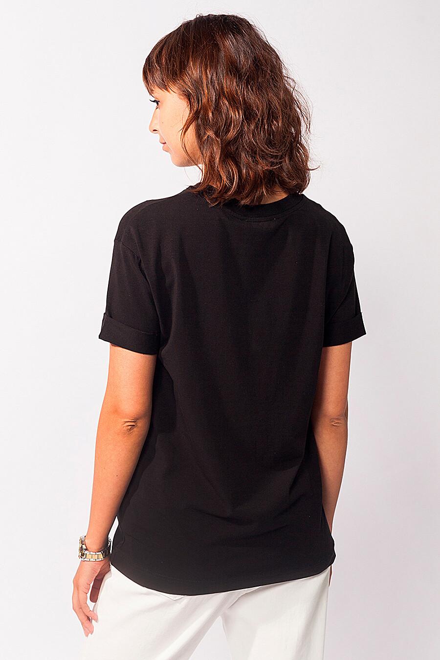 Футболка для женщин VILATTE 668626 купить оптом от производителя. Совместная покупка женской одежды в OptMoyo