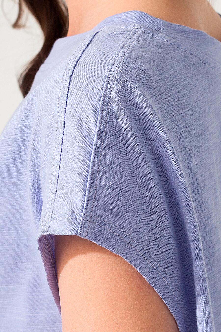 Футболка для женщин VILATTE 668638 купить оптом от производителя. Совместная покупка женской одежды в OptMoyo