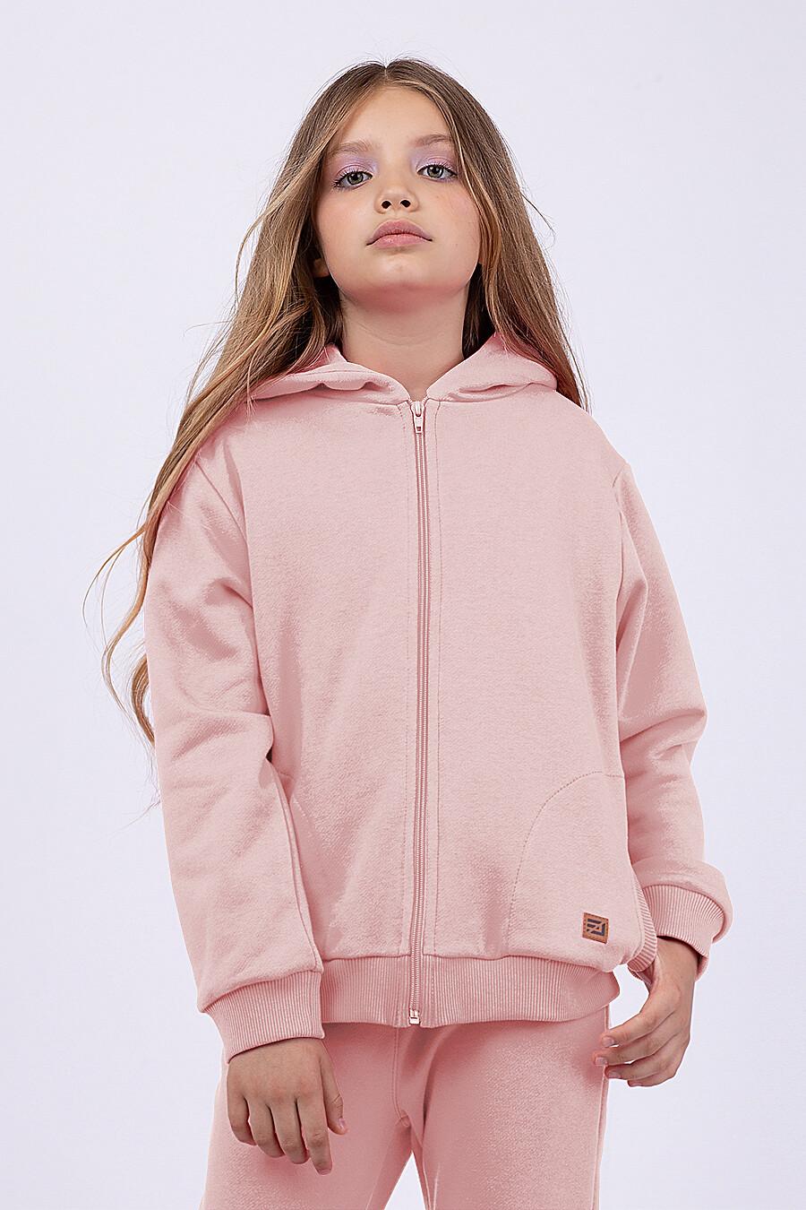 Толстовка для девочек EZANNA 682092 купить оптом от производителя. Совместная покупка детской одежды в OptMoyo