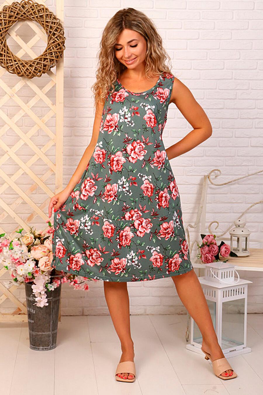 Сарафан для женщин SOFIYA37 682280 купить оптом от производителя. Совместная покупка женской одежды в OptMoyo