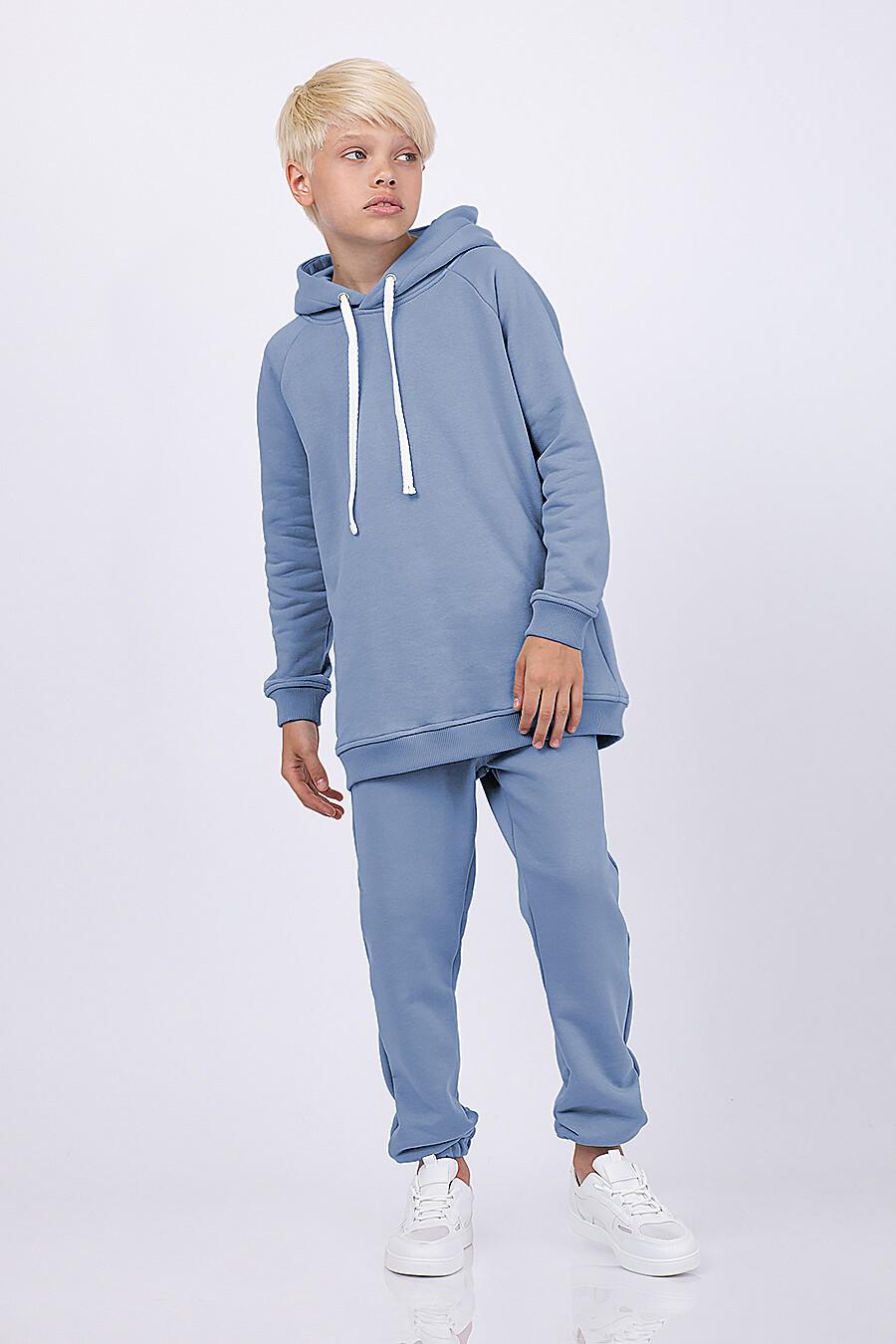 Худи для мальчиков EZANNA 682304 купить оптом от производителя. Совместная покупка детской одежды в OptMoyo