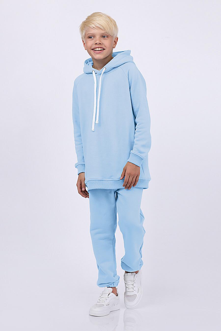 Худи для мальчиков EZANNA 682308 купить оптом от производителя. Совместная покупка детской одежды в OptMoyo