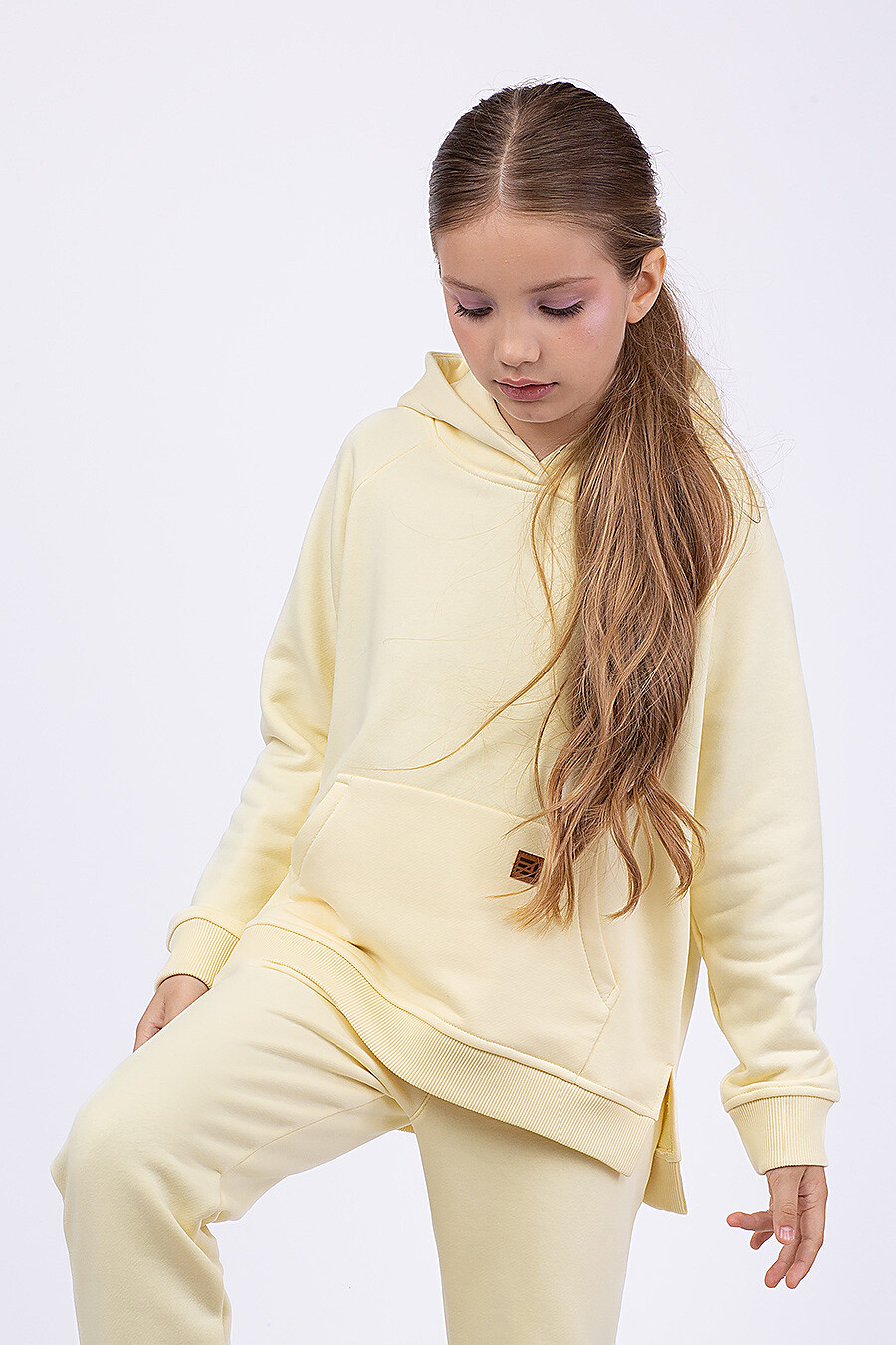 Костюм(Худи+Брюки) для девочек EZANNA 682420 купить оптом от производителя. Совместная покупка детской одежды в OptMoyo