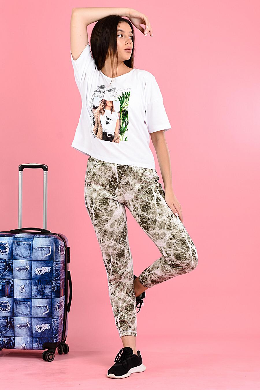 Брюки 8121 для женщин НАТАЛИ 682468 купить оптом от производителя. Совместная покупка женской одежды в OptMoyo