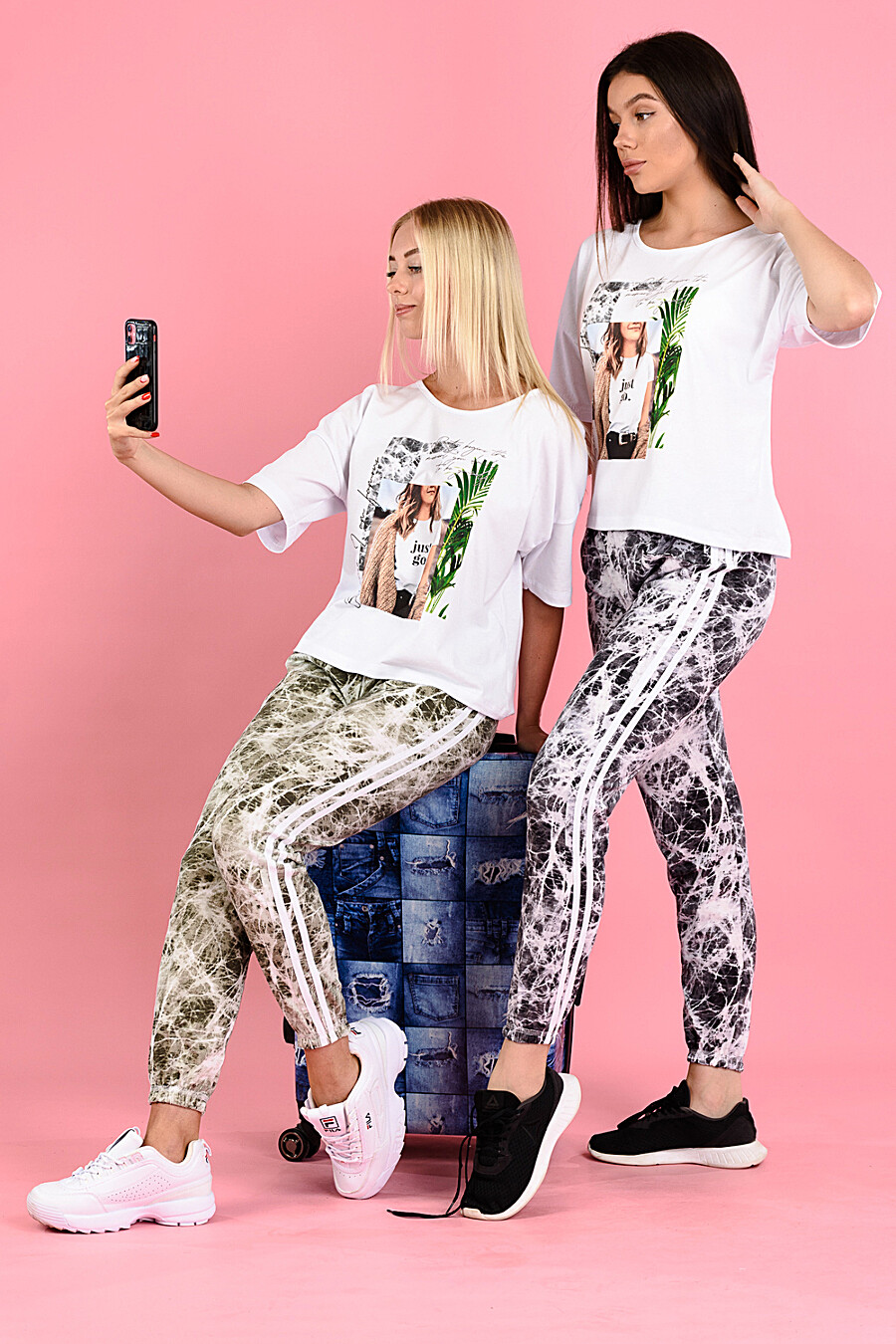 Брюки 8121 для женщин НАТАЛИ 682469 купить оптом от производителя. Совместная покупка женской одежды в OptMoyo