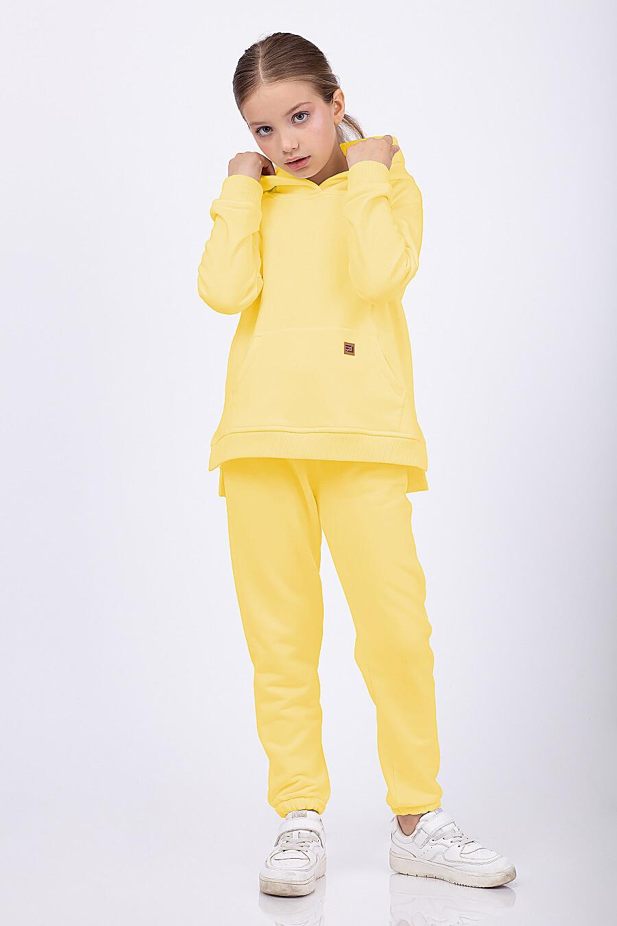 Костюм(Худи+Брюки) для девочек EZANNA 682498 купить оптом от производителя. Совместная покупка детской одежды в OptMoyo