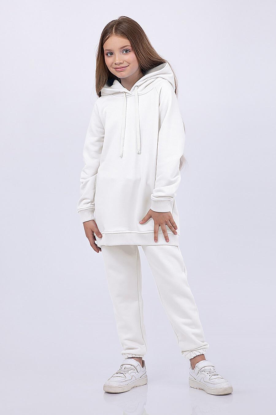 Худи для девочек EZANNA 682636 купить оптом от производителя. Совместная покупка детской одежды в OptMoyo