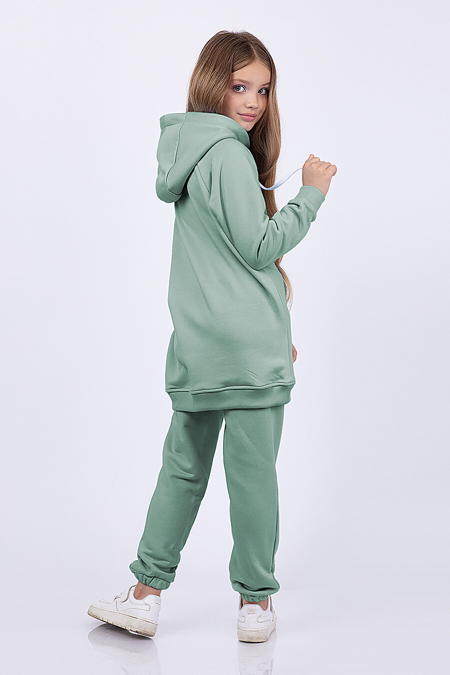 Худи для девочек EZANNA 682638 купить оптом от производителя. Совместная покупка детской одежды в OptMoyo