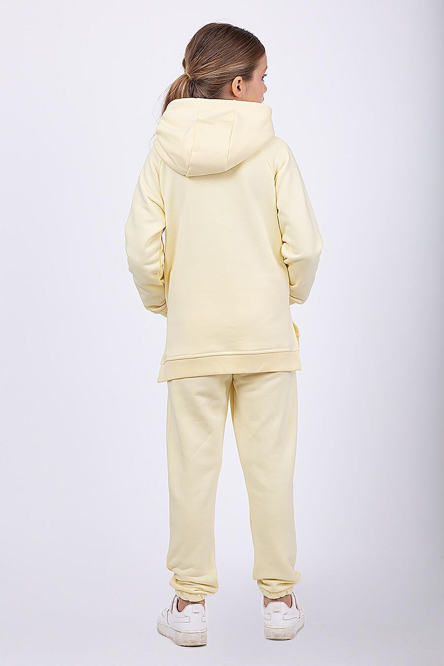 Брюки для девочек EZANNA 682654 купить оптом от производителя. Совместная покупка детской одежды в OptMoyo