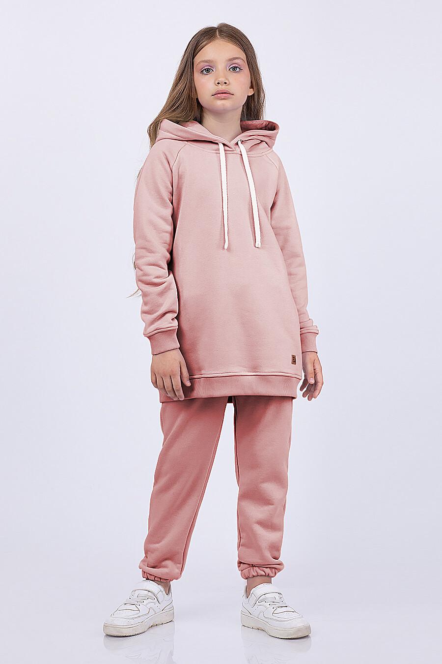 Брюки для девочек EZANNA 682685 купить оптом от производителя. Совместная покупка детской одежды в OptMoyo