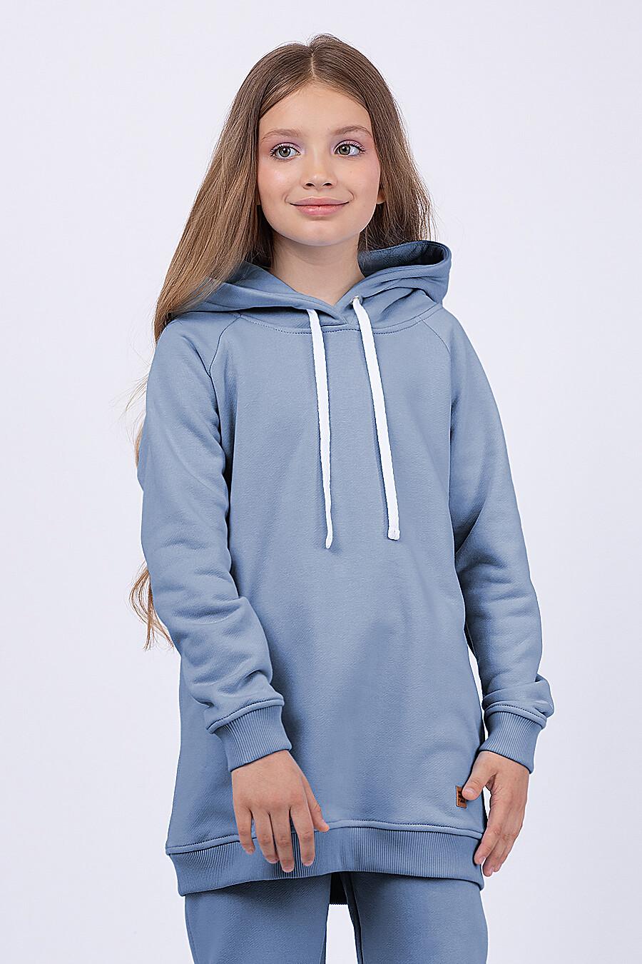 Костюм(Худи+Брюки) для девочек EZANNA 682718 купить оптом от производителя. Совместная покупка детской одежды в OptMoyo