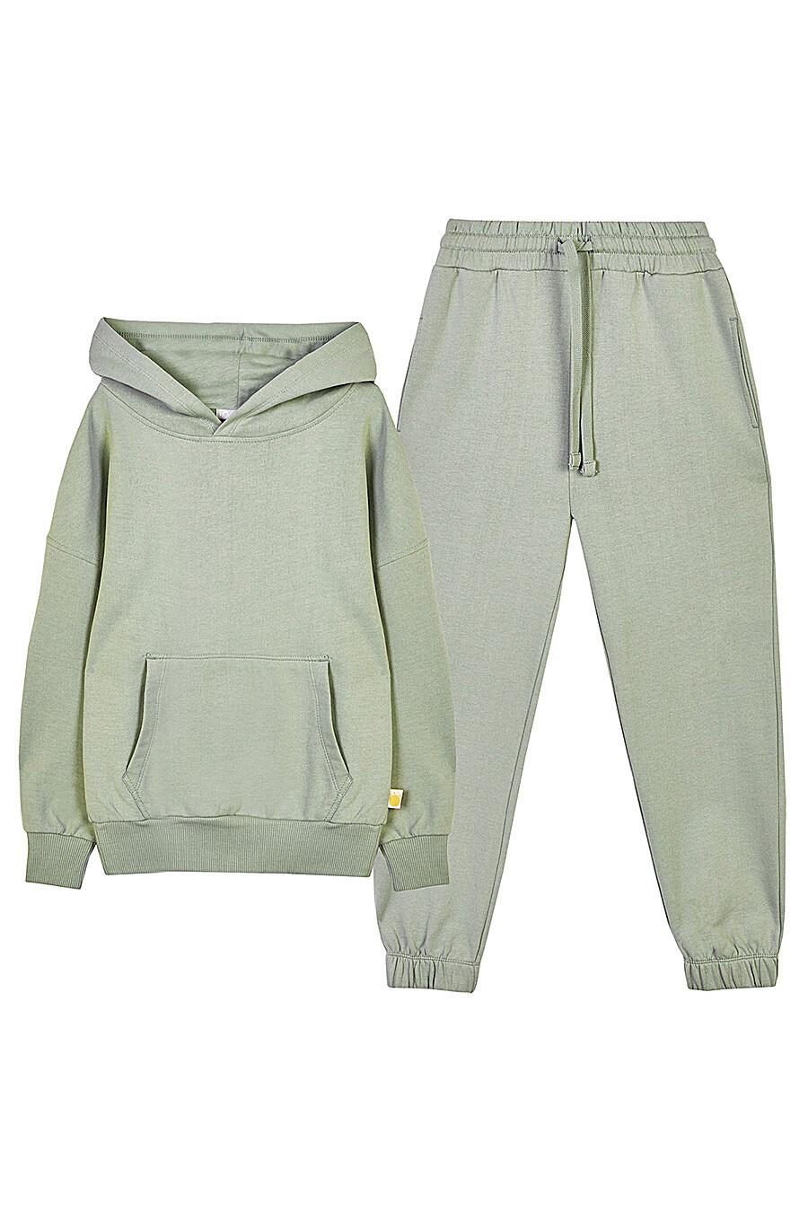 Костюм (Брюки+Худи) для мальчиков KOGANKIDS 682771 купить оптом от производителя. Совместная покупка детской одежды в OptMoyo