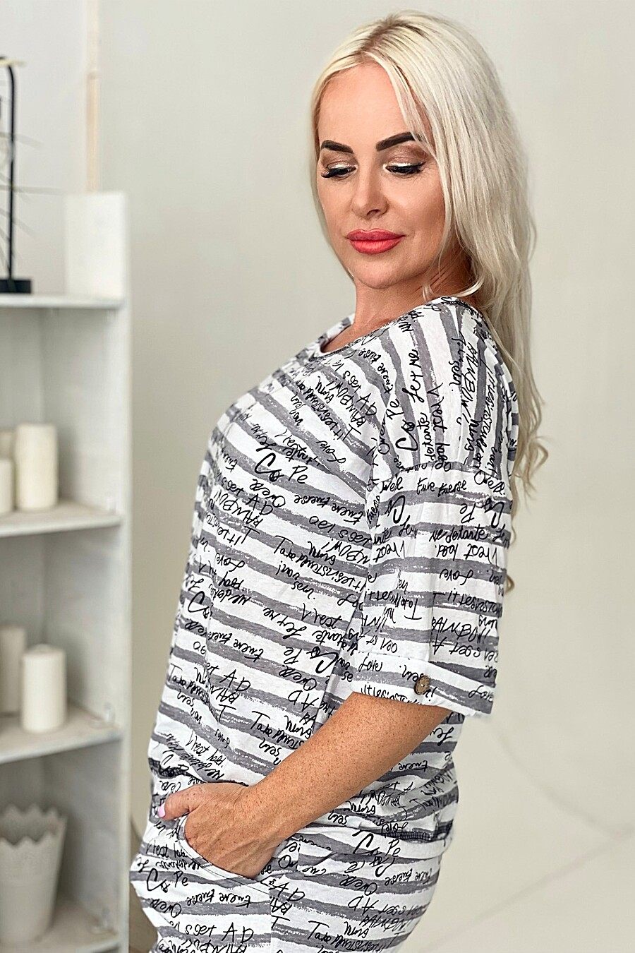 Туника 9074 для женщин НАТАЛИ 682835 купить оптом от производителя. Совместная покупка женской одежды в OptMoyo