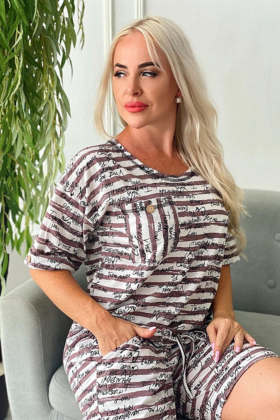 Туника 9074 для женщин НАТАЛИ 682837 купить оптом от производителя. Совместная покупка женской одежды в OptMoyo