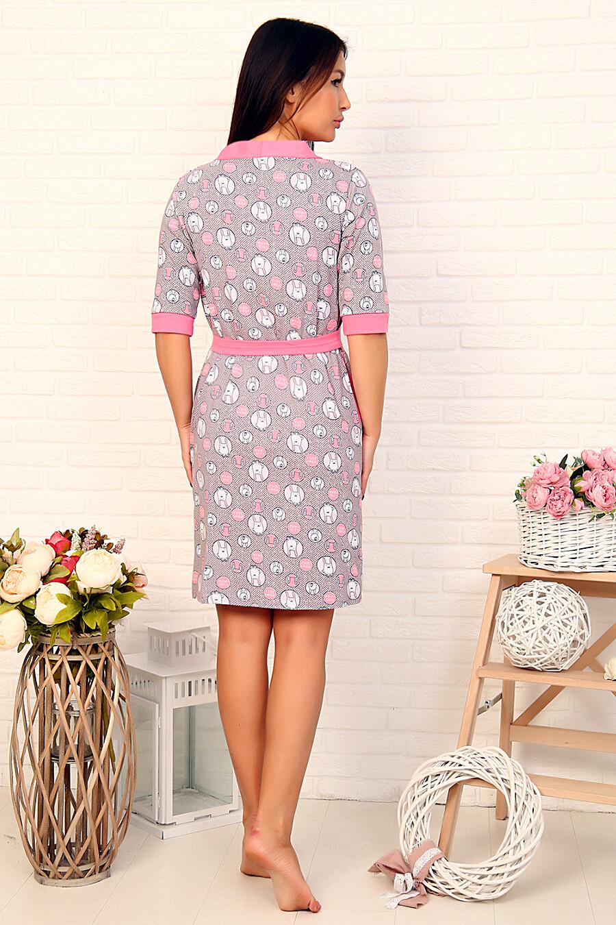 Пеньюар 12474 для женщин НАТАЛИ 682848 купить оптом от производителя. Совместная покупка женской одежды в OptMoyo