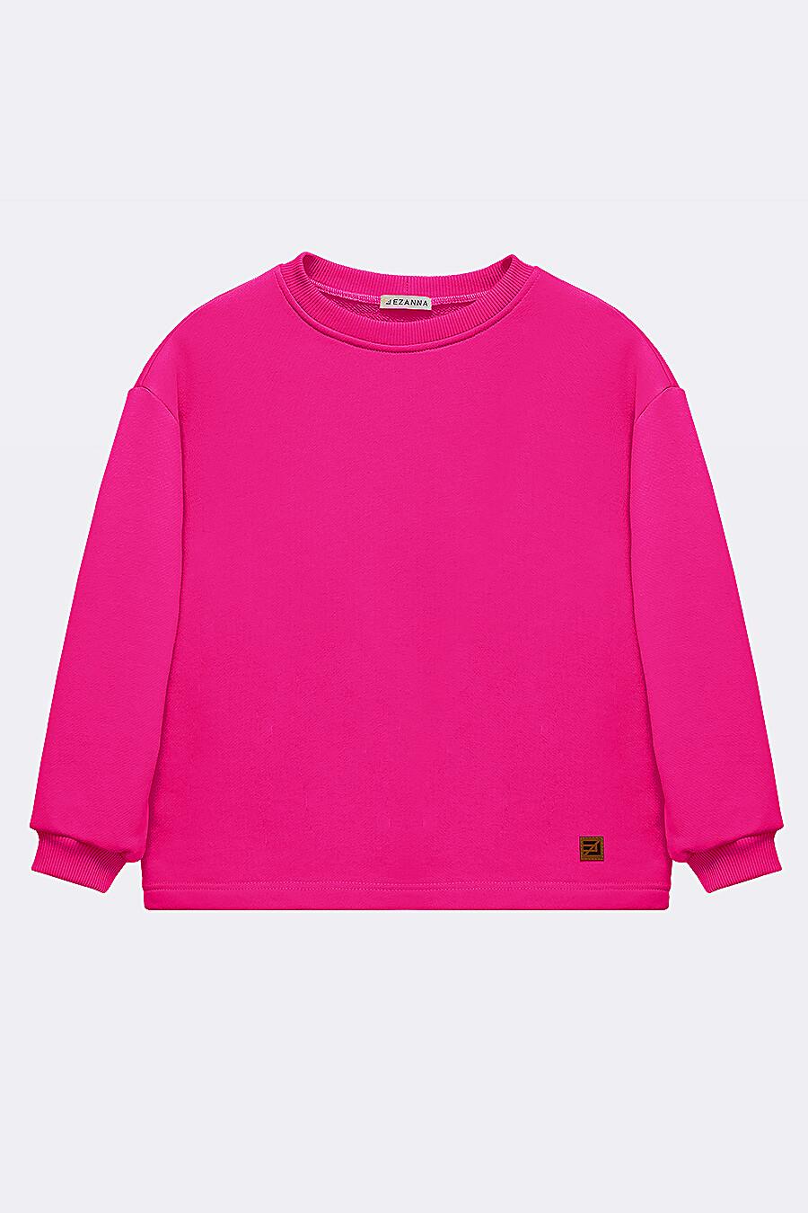 Костюм(Свитшот + Шорты) для девочек EZANNA 683221 купить оптом от производителя. Совместная покупка детской одежды в OptMoyo