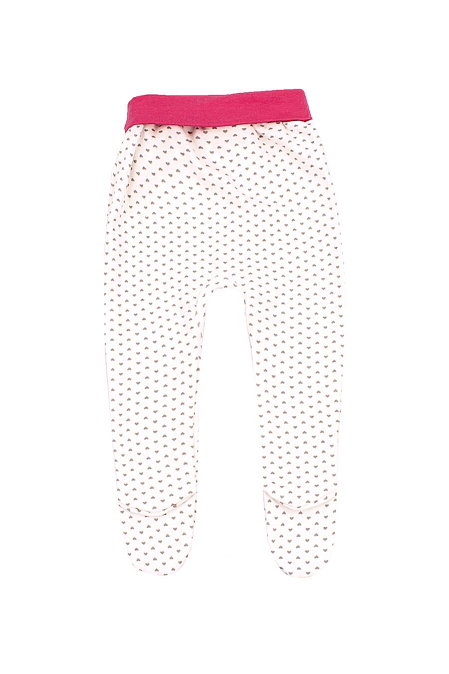 Ползунки для девочек АПРЕЛЬ 699933 купить оптом от производителя. Совместная покупка детской одежды в OptMoyo