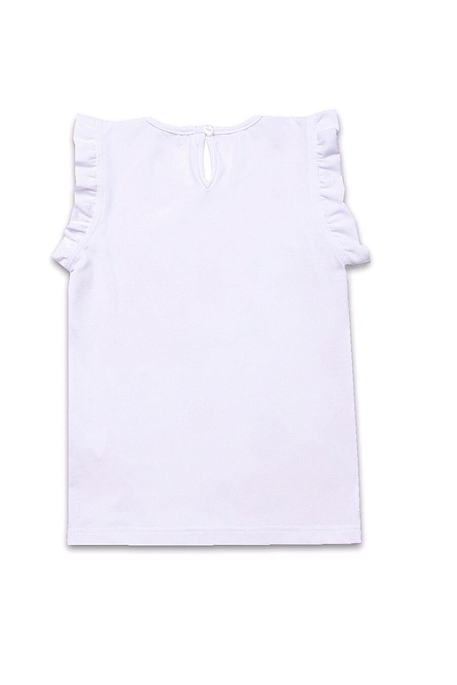 Топ  для девочек АПРЕЛЬ 699968 купить оптом от производителя. Совместная покупка детской одежды в OptMoyo