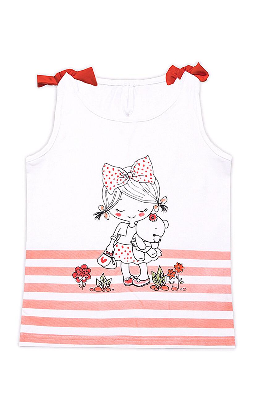 Топ  для девочек АПРЕЛЬ 699971 купить оптом от производителя. Совместная покупка детской одежды в OptMoyo