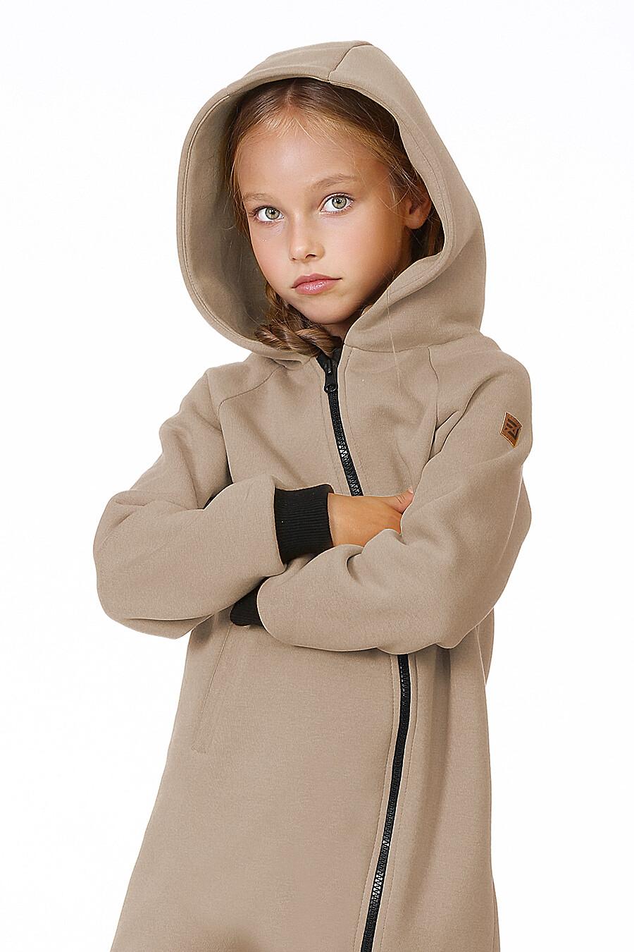 Комбинезон для девочек EZANNA 699992 купить оптом от производителя. Совместная покупка детской одежды в OptMoyo