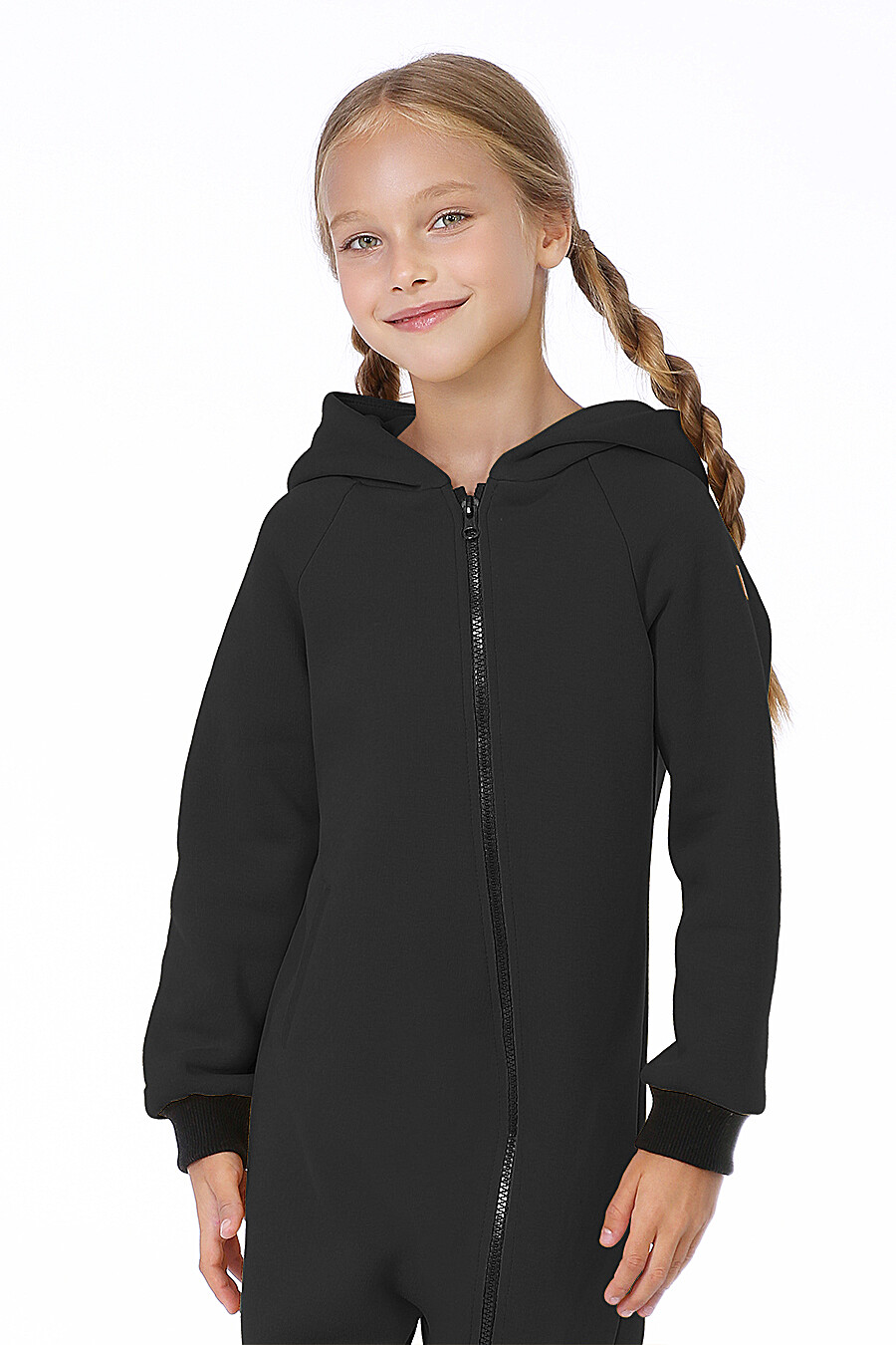 Комбинезон для девочек EZANNA 700016 купить оптом от производителя. Совместная покупка детской одежды в OptMoyo
