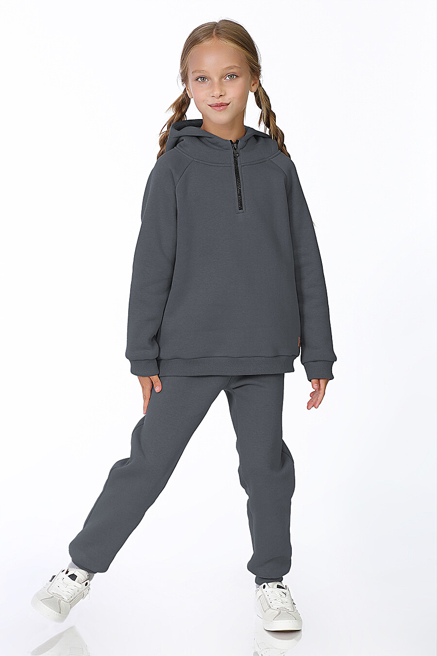 Худи для девочек EZANNA 700222 купить оптом от производителя. Совместная покупка детской одежды в OptMoyo