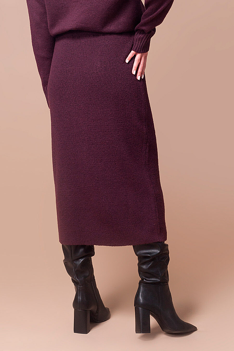Юбка для женщин VILATTE 700252 купить оптом от производителя. Совместная покупка женской одежды в OptMoyo