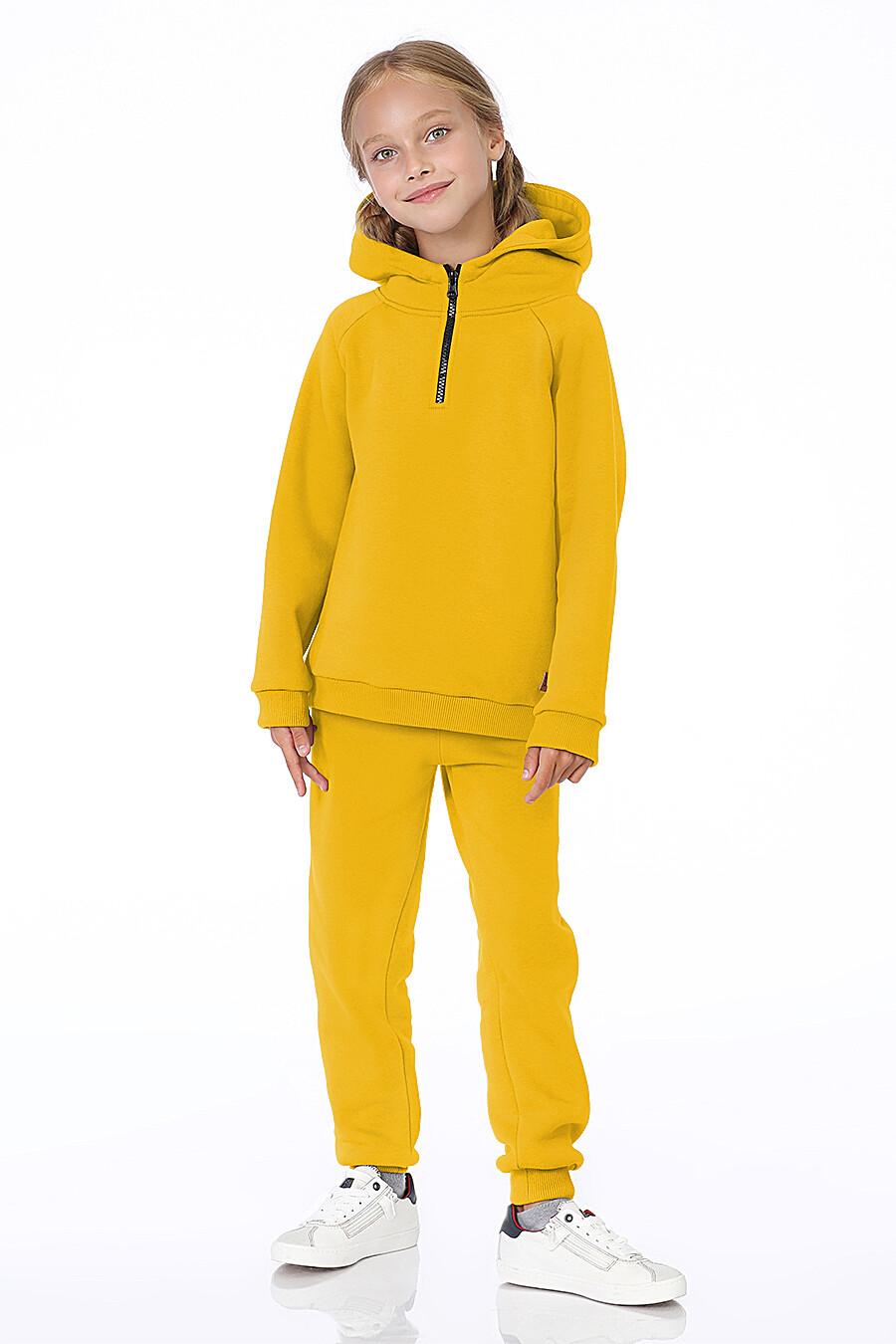 Костюм(Худи+Брюки) для девочек EZANNA 700314 купить оптом от производителя. Совместная покупка детской одежды в OptMoyo