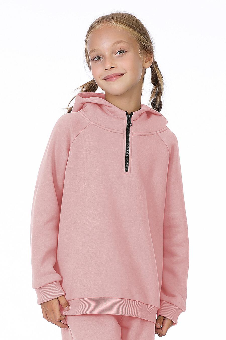 Костюм(Худи+Брюки) для девочек EZANNA 700322 купить оптом от производителя. Совместная покупка детской одежды в OptMoyo
