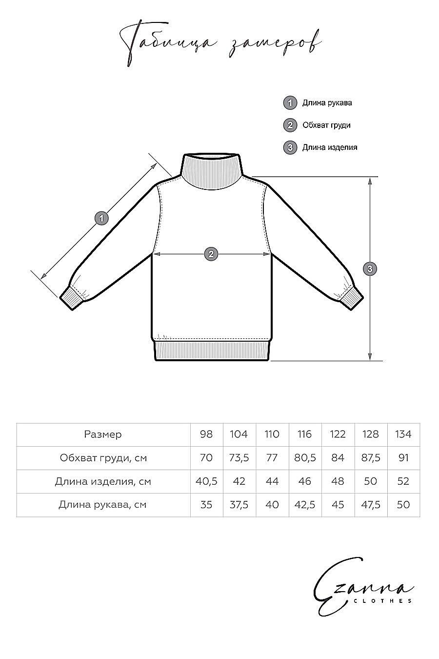 Водолазка для мальчиков EZANNA 700406 купить оптом от производителя. Совместная покупка детской одежды в OptMoyo