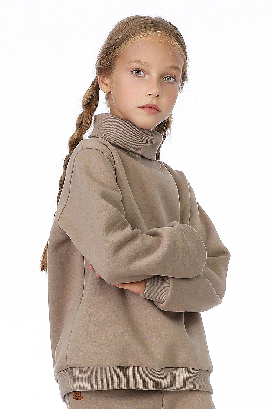 Костюм(Водолазка+Брюки) для девочек EZANNA 700419 купить оптом от производителя. Совместная покупка детской одежды в OptMoyo