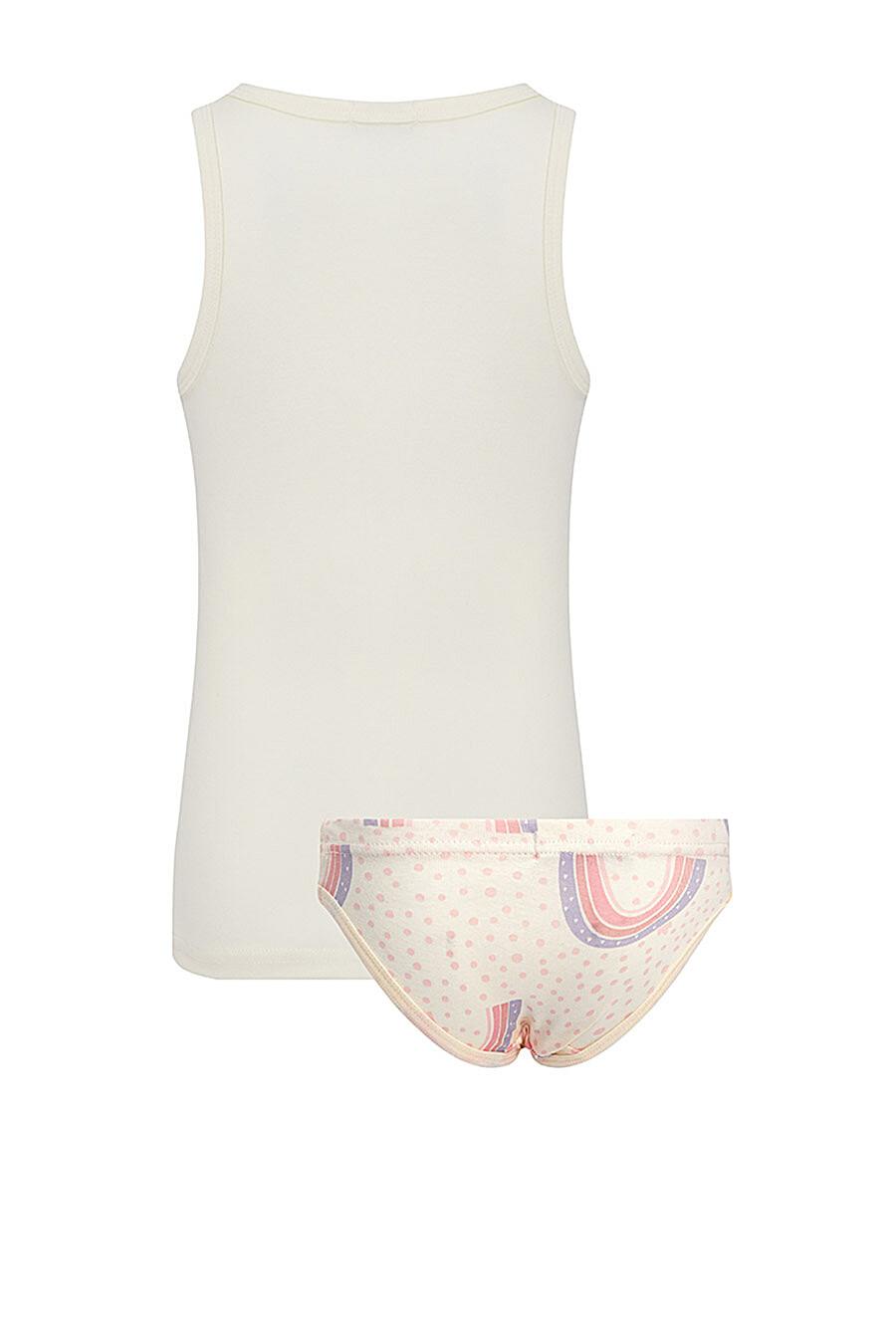 Комплект (Майка+Трусы) для девочек ROXY FOXY 707307 купить оптом от производителя. Совместная покупка детской одежды в OptMoyo