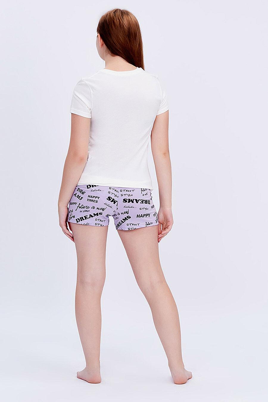 Комплект (Футболка+Шорты) для девочек ROXY FOXY 707351 купить оптом от производителя. Совместная покупка детской одежды в OptMoyo