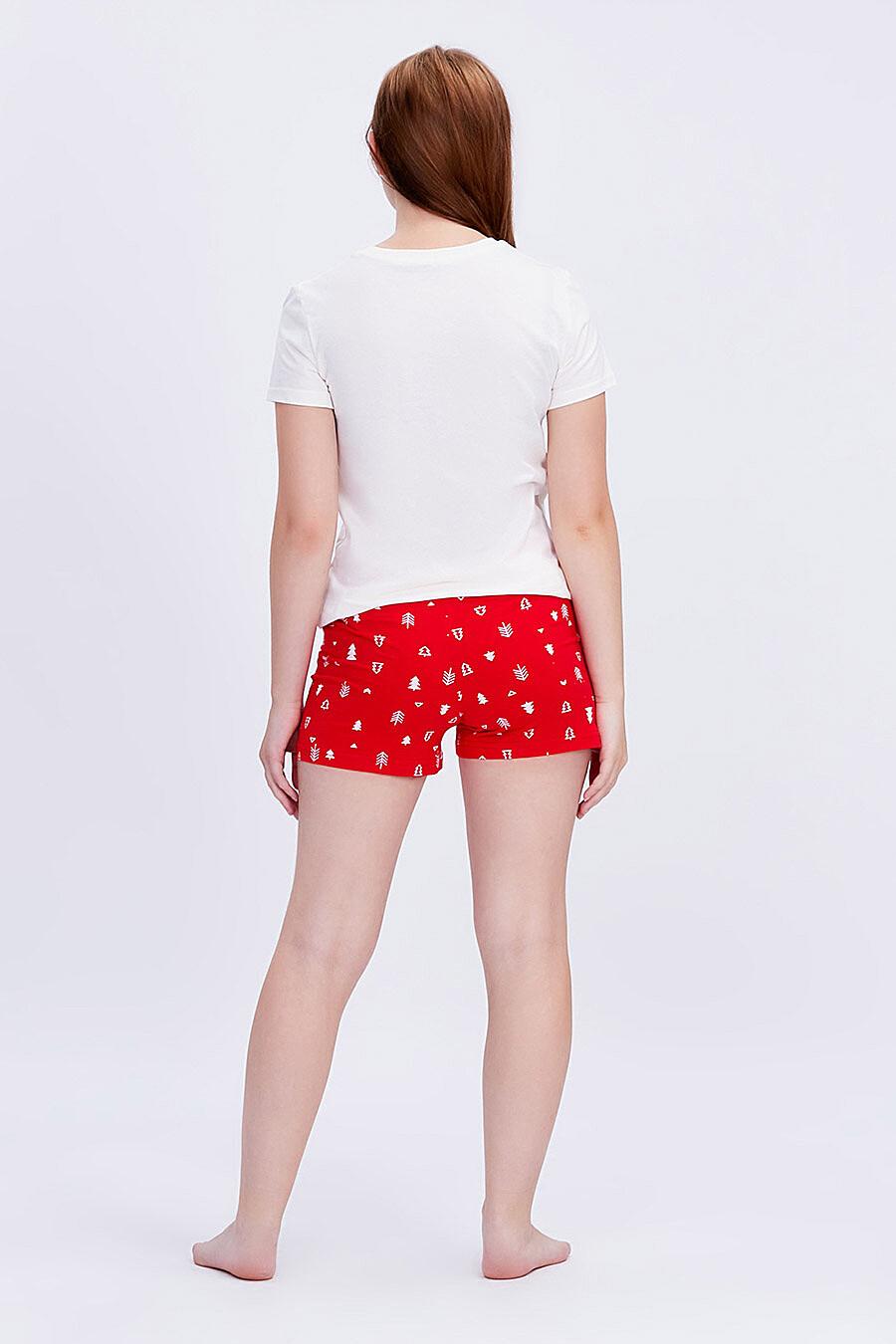 Комплект (Футболка+Шорты) для девочек ROXY FOXY 707356 купить оптом от производителя. Совместная покупка детской одежды в OptMoyo