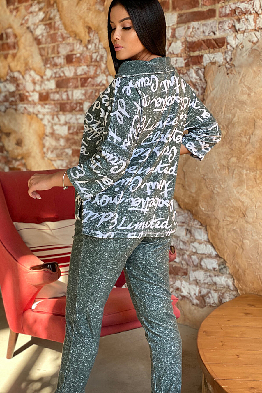 Костюм 9087 для женщин НАТАЛИ 707434 купить оптом от производителя. Совместная покупка женской одежды в OptMoyo